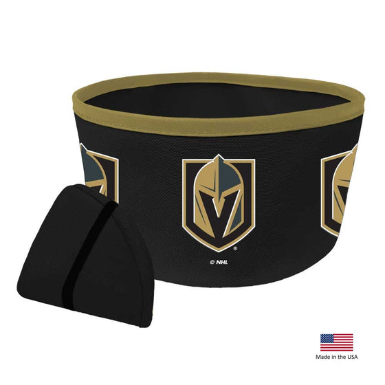 Vegas Golden Knights Collapsible Pet Bowl