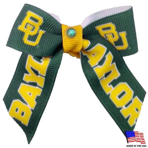 All Star Dogs Dog-products NCAA Baylor Bears Pet Hair Bow