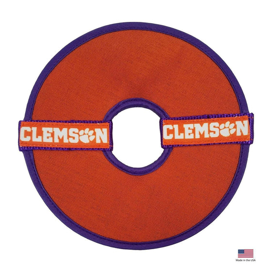 All Star Dogs Dog-products NCAA Clemson Tigers Flying Disc Toy