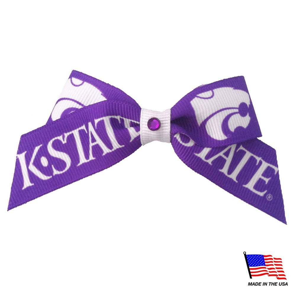 All Star Dogs Dog-products NCAA Kansas State Wildcats Pet Hair Bow