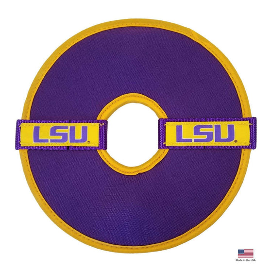 All Star Dogs Dog-products NCAA Lsu Tigers Flying Disc Toy