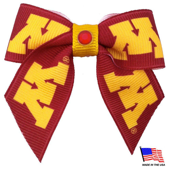 All Star Dogs Dog-products NCAA Minnesota Golden Gophers Pet Hair Bow