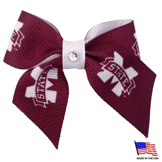 All Star Dogs Dog-products NCAA Mississippi State Bulldogs Pet Hair Bow