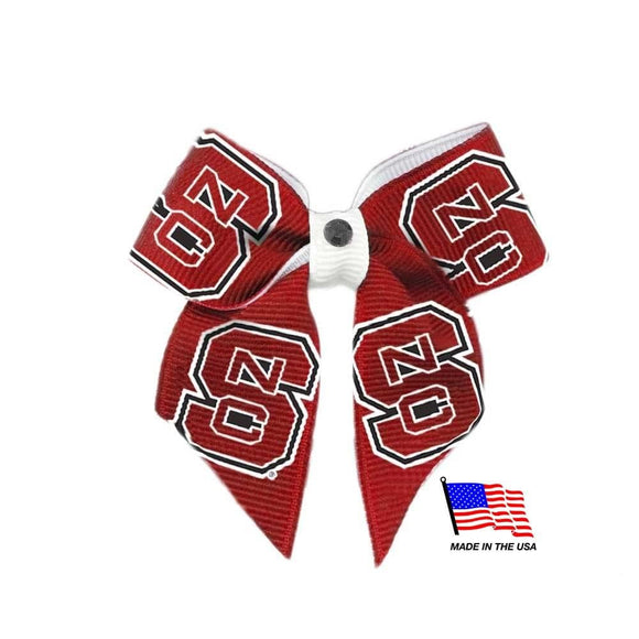 All Star Dogs Dog-products NCAA Nc State Wolfpack Pet Hair Bow