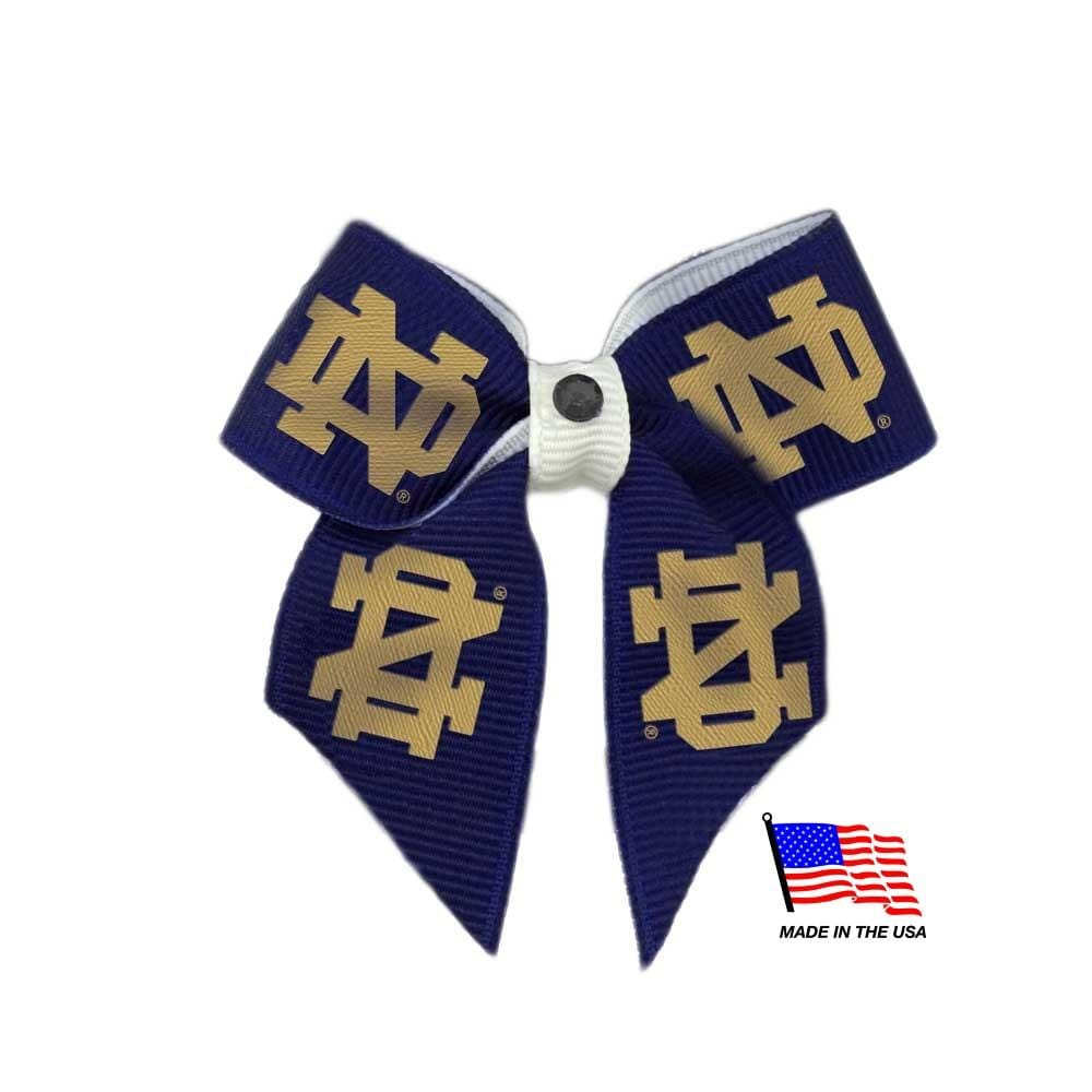 All Star Dogs Dog-products NCAA Notre Dame Fighting Irish Pet Hair Bow