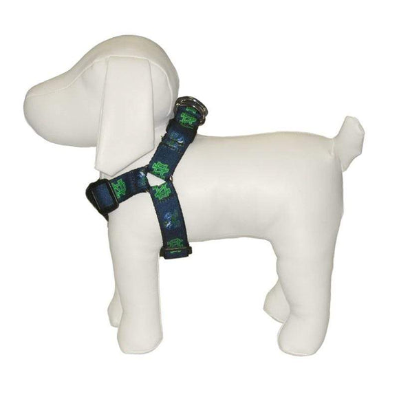 All Star Dogs Dog-products NCAA Large Notre Dame Leprechaun Pet Harness
