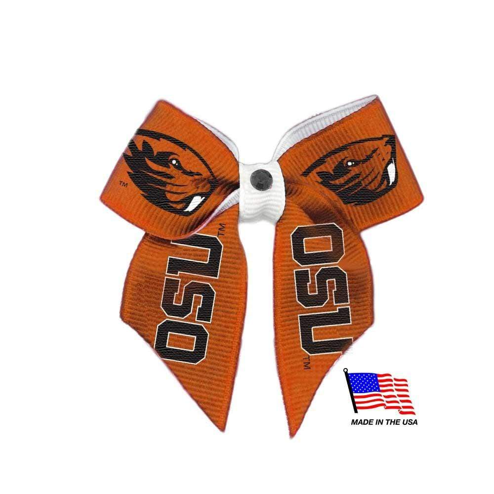 All Star Dogs Dog-products NCAA Oregon State Beavers Pet Hair Bow