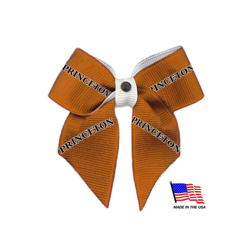 All Star Dogs Dog-products NCAA Princeton Tigers Pet Hair Bow