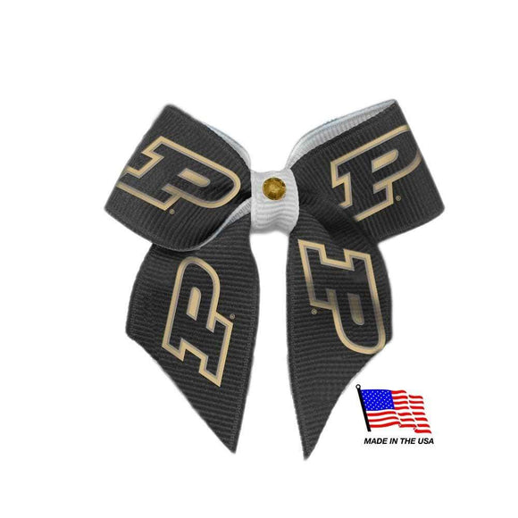 All Star Dogs Dog-products NCAA Purdue Boilermakers Pet Hair Bow