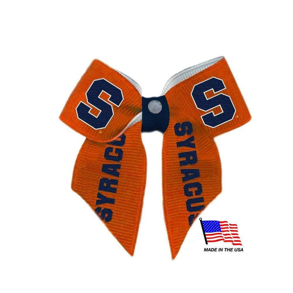All Star Dogs Dog-products NCAA Syracuse Orange Pet Hair Bow