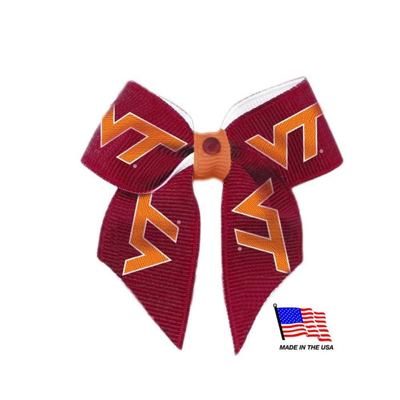 All Star Dogs Dog-products NCAA Virginia Tech Hokies Pet Hair Bow