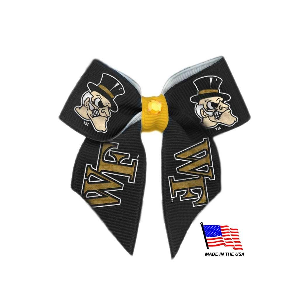 All Star Dogs Dog-products NCAA Wake Forest Demon Deacons Pet Hair Bow