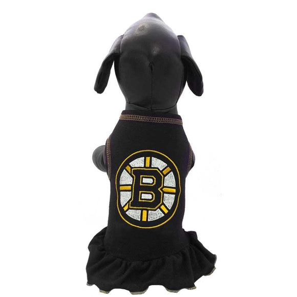All Star Dogs Dog-products NHL Boston Bruins Pet Hair Bow
