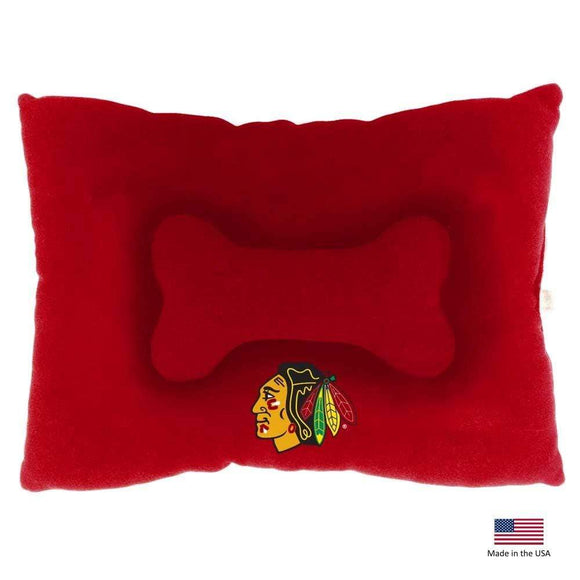 All Star Dogs Dog-products NHL Large Chicago Blackhawks Pet Slumber Bed