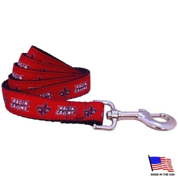 All Star Dogs Dog-products NCAA Large Louisiana Ragin' Cajuns Pet Leash
