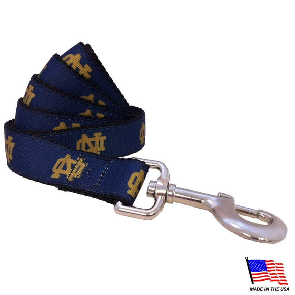 All Star Dogs Dog-products NCAA Large Notre Dame Fighting Irish Pet Leash