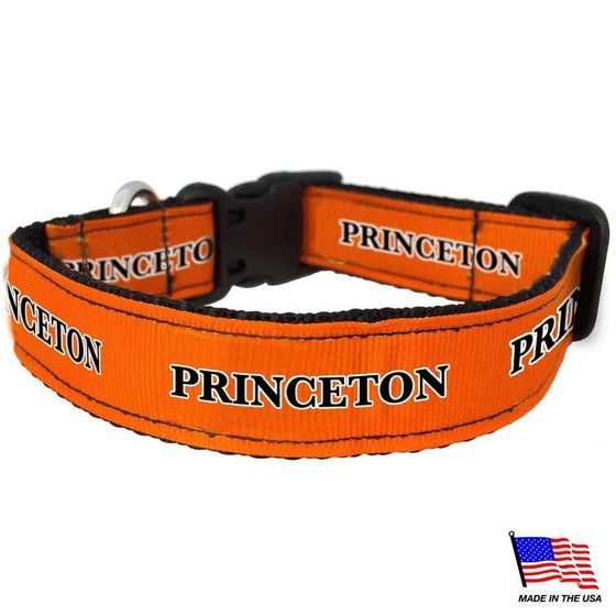All Star Dogs Dog-products NCAA Large Princeton Tigers Pet Collar