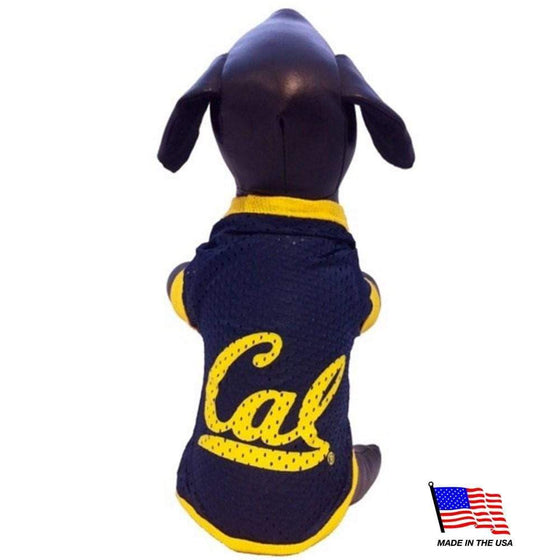 All Star Dogs Dog-products NCAA Medium California Berkeley Athletic Mesh Pet Jersey