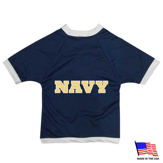 All Star Dogs Dog-products NCAA Medium Navy Midshipmen Athletic Mesh Pet Jersey