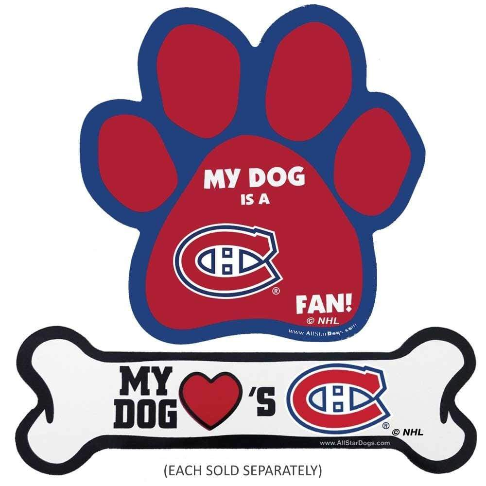 Red Medium All Star Dogs NHL Montreal Canadiens Dog Harness