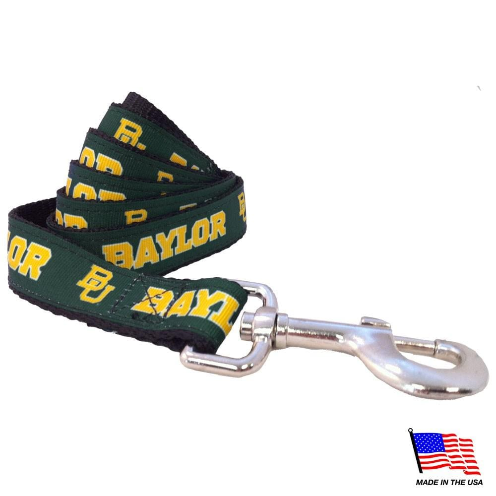 All Star Dogs Dog-products NCAA Small Baylor Bears Pet Leash