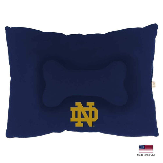All Star Dogs Dog-products NCAA Small Notre Dame Fighting Irish Pet Slumber Bed