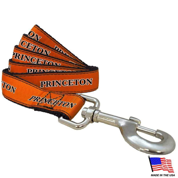 All Star Dogs Dog-products NCAA Small Princeton Tigers Pet Leash