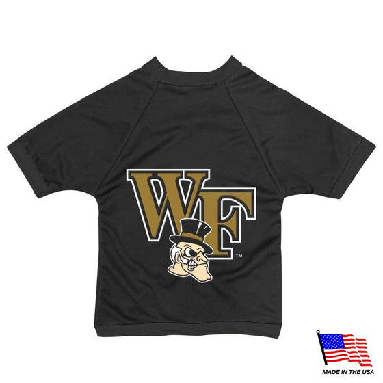All Star Dogs Dog-products NCAA Small Wake Forest Demon Deacons Mesh Pet Jersey