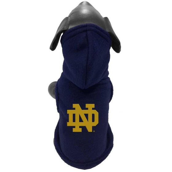 All Star Dogs Dog-products NCAA XS Notre Dame Fighting Irish Polar Fleece Pet Hoodie