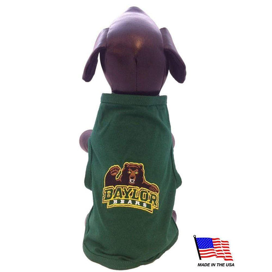 All Star Dogs Dog-products NCAA XXL Baylor Bears Pet Tank