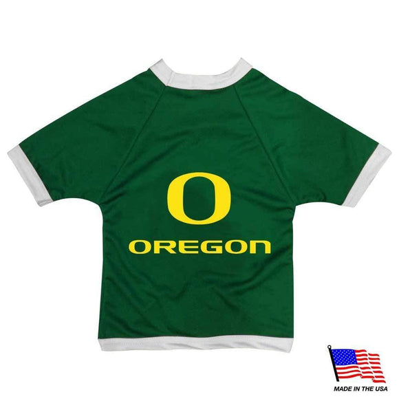 All Star Dogs Dog-products NCAA XXL Oregon Ducks Athletic Mesh Pet Jersey