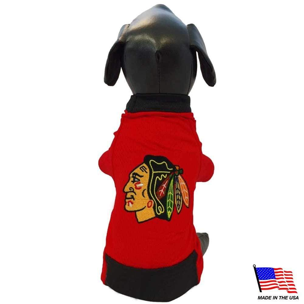 All Star Dogs Dog-products NHL XXL Chicago Blackhawks Premium Pet Jersey