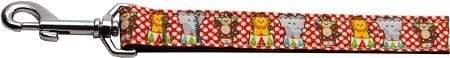 Doggy Stylz Dog-products Dog Collars And Leashes 1 Wide 4ft Circus Smirkus Nylon Ribbon Collars 1 Wide Leash