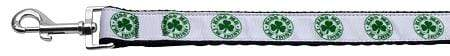Doggy Stylz Dog-products Dog Collars And Leashes 1 Wide 6ft Kiss Me - I'm Irish Nylon Ribbon Dog Collars 1 Wide Leash
