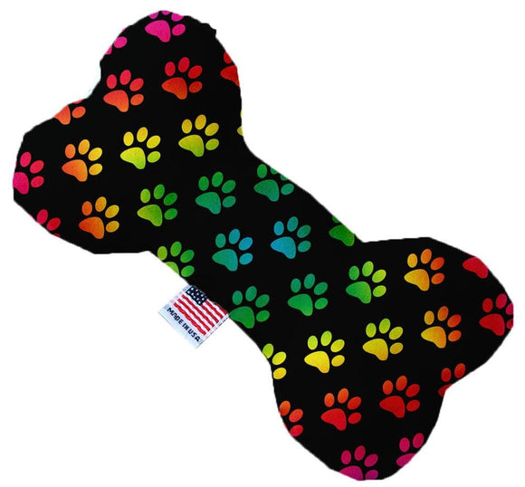Doggy Stylz Dog-products Toys 10 Inch Rainbow Paws Inch Bone Dog Toy