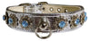 Doggy Stylz Dog-products New 16 Starlite Silver W/ Light Blue Stones