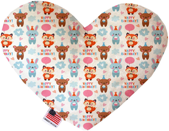 "Doggy Stylz Dog-products New 6"" Birthday Buddies Inch Heart Dog Toy"