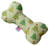 "Doggy Stylz Dog-products New 6"" Cutesy Christmas Trees Inch Canvas Bone Dog Toy"