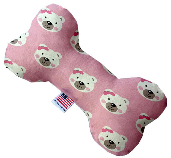 Doggy Stylz Dog-products Toys 8 Inch Pink Bears And Bows Inch Bone Dog Toy