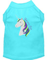 Doggy Stylz Dog-products Unicorns! Aqua / SMALL Unicorns Rock Embroidered Dog Shirt Aqua