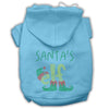Doggy Stylz Dog-products New! Baby Blue / Small Santa's Elf Rhinestone Dog Hoodie