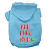 Doggy Stylz Dog-products New Baby Blue / XXL Bah Humbug Screen Print Dog Hoodie