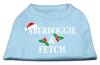 Doggy Stylz Dog-products New Pet Products Baby Blue / XXXL Aberdoggie Christmas Screen Print Shirt