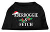 Doggy Stylz Dog-products New Pet Products Black / Extra Large Aberdoggie Christmas Screen Print Shirt