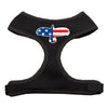 Doggy Stylz Dog-products New Pet Products Black / Large Eagle Flag Screen Print Soft Mesh Harness