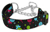 Doggy Stylz Dog-products New Pet Products Black / Large Lollipops Nylon Ribbon Collar Martingale
