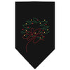 Doggy Stylz Dog-products Holiday Pet Products Black / Small Wreath Rhinestone Bandana