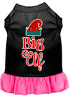 Doggy Stylz Dog-products New Black With Bright / XXXL Big Elf Screen Print Dog Dress