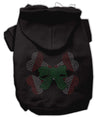 Doggy Stylz Dog-products New Pet Products Black / XXL Candy Cane Crossbones Rhinestone Hoodie