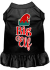 Doggy Stylz Dog-products New Black / XXXL Big Elf Screen Print Dog Dress